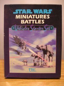 Star Wars Miniatures Battles Vehicle Starter Set West End 1996