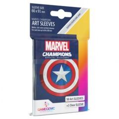 G10096 - Marvel Champions Art Sleeves - Captain America