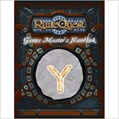 RuneQuest (2008) - Games Master's Handbook 8134 HC