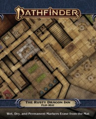Pathfinder Flip-Mat - The Rusty Dragon Inn 30103