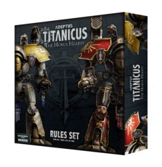 Adeptus Titanicus - The Horus Heresy Rules Set