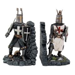 12353 Crusader Knight Bookends