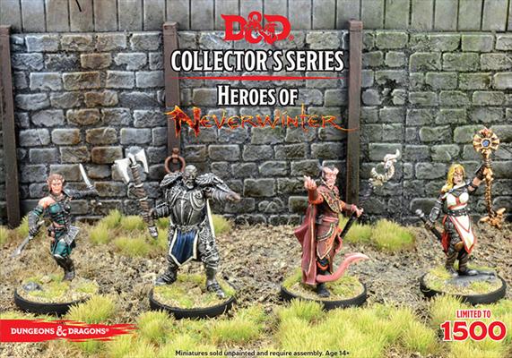 D&D Collectors Series - Heroes Of Neverwinter