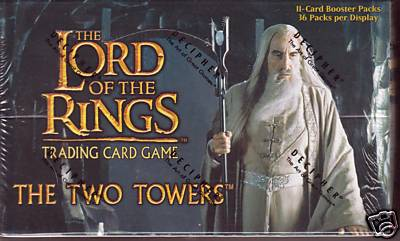 Lord of the Rings TCG Two Towers  Booster Box Decipher