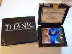 Titanic TCG Collector's Set of Limited Edition Trading Card