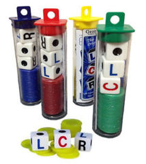 LCR (Left Center Right) Dice Game