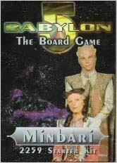 Babylon 5 Component Game System Minbari 2259 Starter Kit