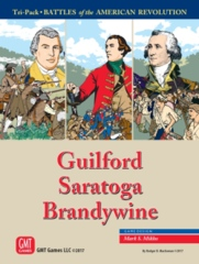 American Revolution Guilford, Saratoga, Brandywine