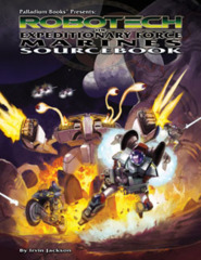 Robotech The Expeditionary Force Marines Sourcebook