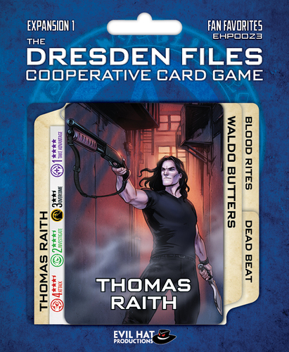 Dresden Files - Cooperative Card Game - Expansion 1 - Fan Favorites