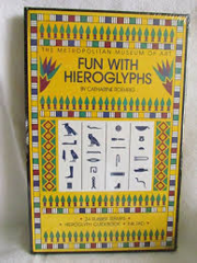 Fun with Hieroglyphs Metropolitan Museum of Art