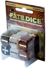 Fate Dice - Antiquity