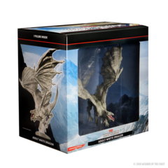Icons of the Realms - Adult White Dragon Premium Figure