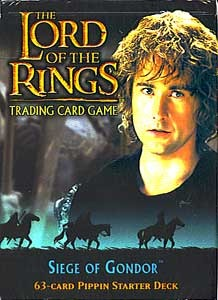 Lord of the Rings TCG Siege of Gondor (2 Starter Decks: Merry & Pippin)