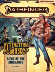 Pathfinder 2E Adventure Path 154 - Siege of the Dinosaurs 90154