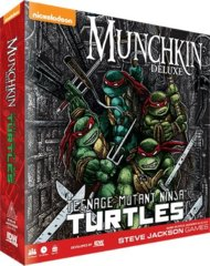 Munchkin Deluxe  - Teenage Mutant Ninja Turtles