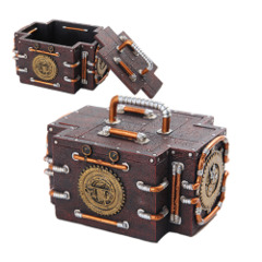 Pacific 10246 Steampunk Gauge Box