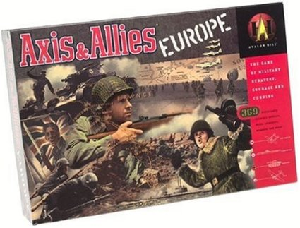 Axis & Allies: Europe (2000 Edition) WWII Strategy Game