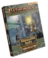 Pathfinder 2E - Abomination Vaults Pawn Collection