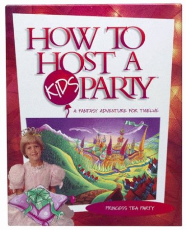 How to Host a Kids Party Princess Tea Party