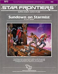 Star Frontiers SF3 - Sundown on Starmist 7803