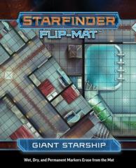 Starfinder Flip-Mat - Giant Starship 7321