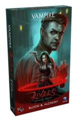 Vampire The Masquerade Rivals ECG: Blood & Alchemy Expansion