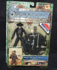 Shadowrun Duels Action Figure The Street Deacon Vigilante WZK6400
