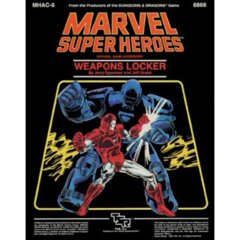 Marvel Super Heroes MHAC 8 - Weapons Locker 6868