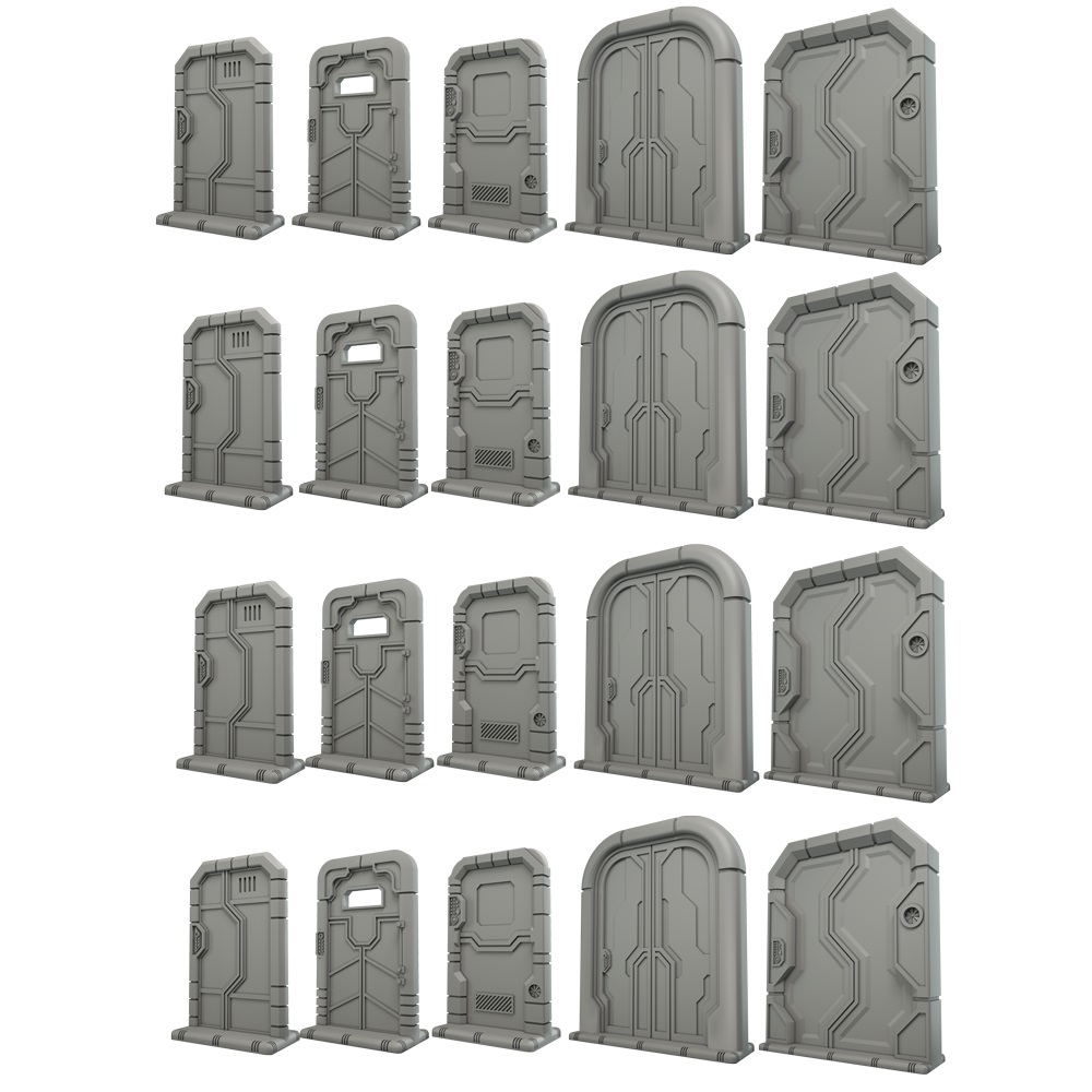 Terrain Crate - Starship Doors