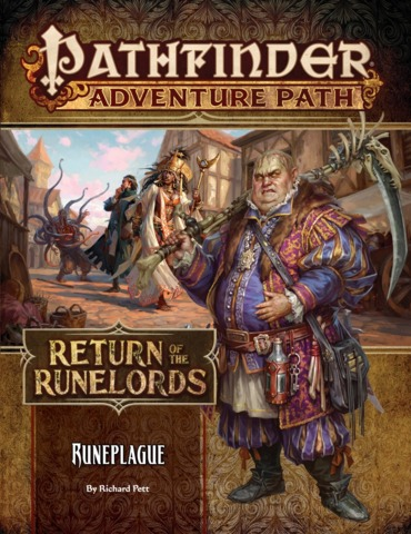 Pathfinder Adventure Path 135 - Runeplague