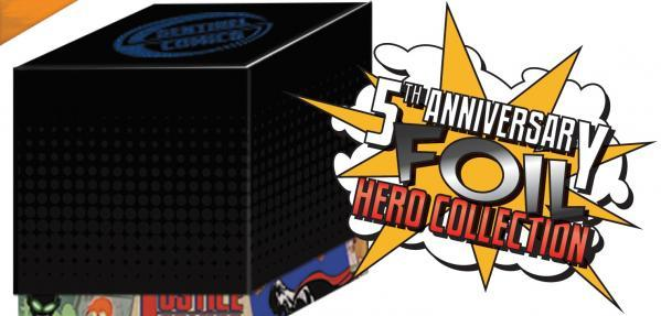 Sentinels Of The Multiverse 5th Anniversary Foil Hero Collection