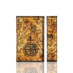 BK-18 Compass Rose Book Box