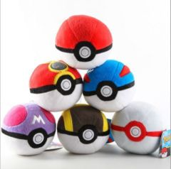 Pokemon Pokeball Plush