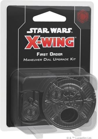FFG SWZ20 - Star Wars X-Wing (2e) - First Order Maneuver Dial Upgrade Kit
