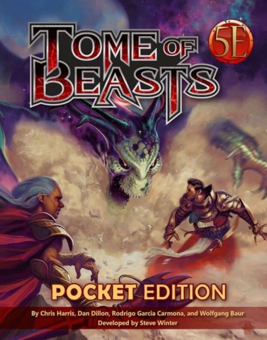 Tome of Beasts 5E Pocket Edition