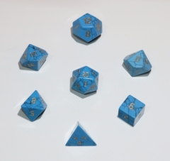 16mm Turquoise 7pc