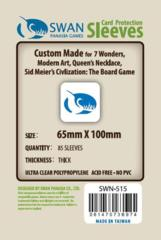 Swan 7 Wonders Sleeves
