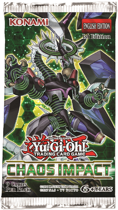 Yu-Gi-Oh! - Chaos Impact Booster Pack