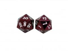 Heavy Metal D20 2-Dice Set - Red