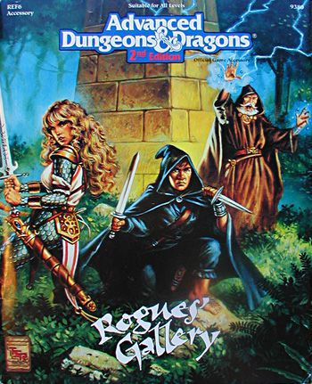 AD&D(2e) REF6 - Rogues Gallery 9380