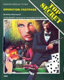 Top Secret - TS 004 Operation: Fastpass 7603