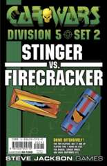 Car Wars - Division 5 Set 2 - Stinger vs. Firecracker