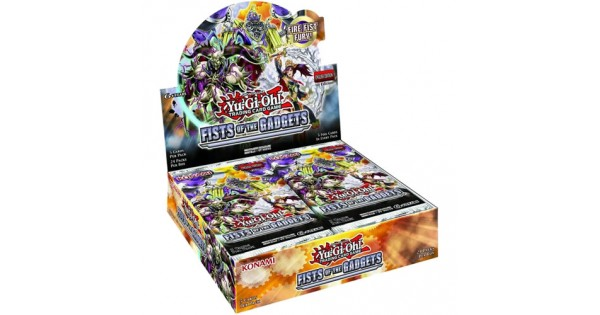 Yu-Gi-Oh! - Fists of the Gadgets Booster Box