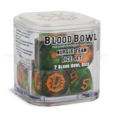 Blood Bowl - Nurgle Team Dice Set