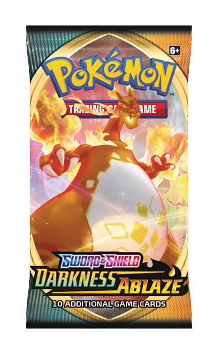 Pokemon - Sword & Shield Darkness Ablaze Booster Pack
