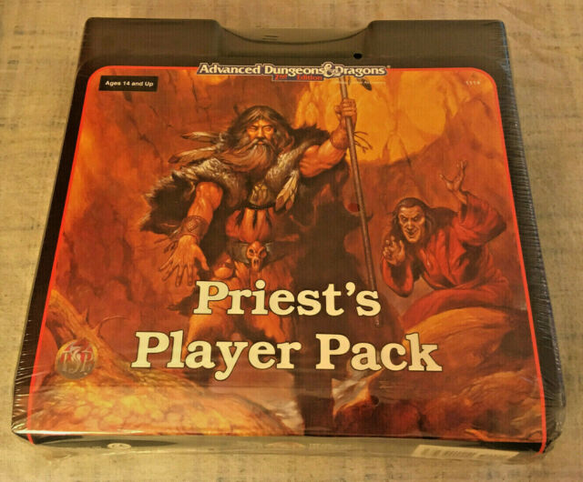 AD&D (2e) Priests Player Pack 1114