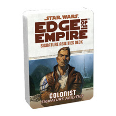 uSWE50 - Edge Of The Empire: Colonist Signature Abilities