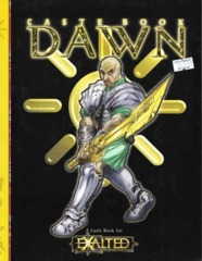 Exalted: 8830 Caste Book: Dawn