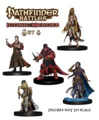Pathfinder Battles - Iconic Heroes Set 8